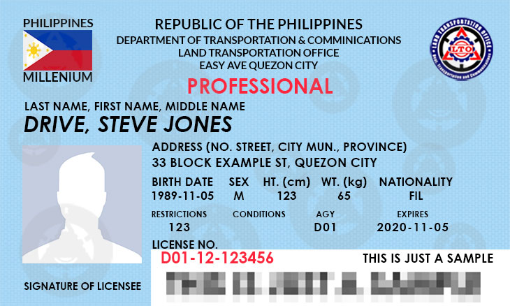 How To Renew Your Drivers License In Lto Philippines Lto Exam