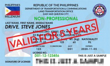 5-years-license-ltoexamreviewer